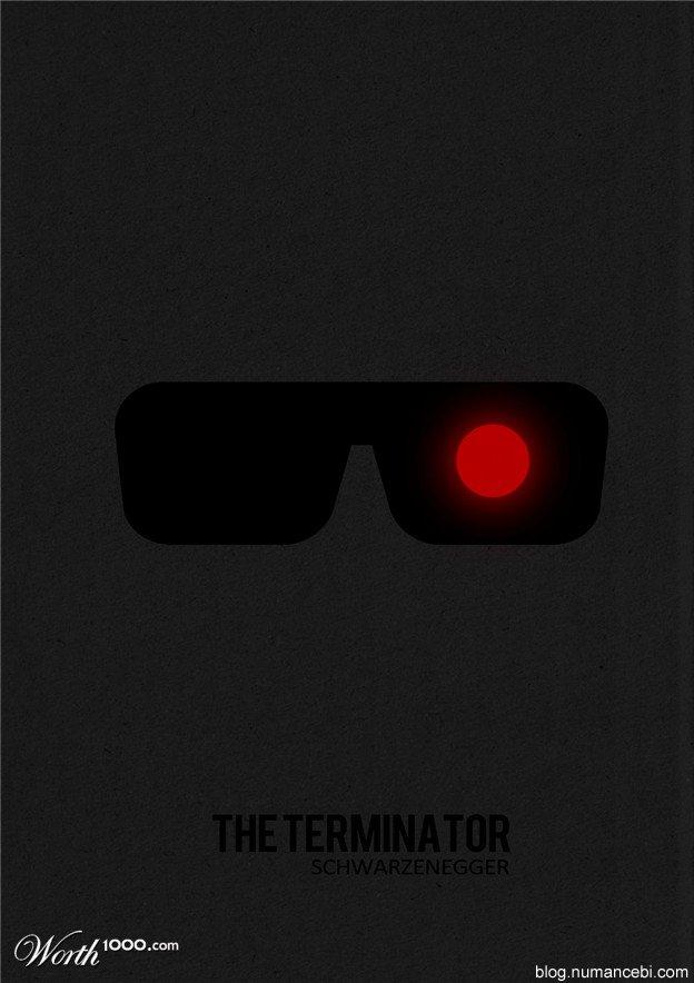 Minimalist Film Afişleri
